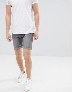 Read more about Produkt denim shorts in washed grey denim - medium grey denim