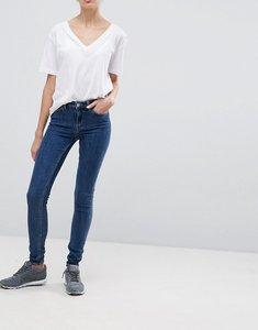 Read more about Weekday body super stretch skinny mid wash denim jean - mid wash blue