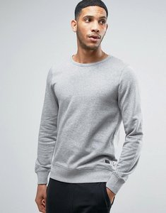 Read more about Produkt sweatshirt - light grey melange