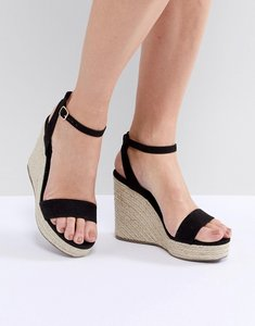 Read more about New look espadrille wedge - black