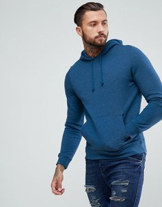 Read more about Bravesoul basic overhead pocket hoody - blue