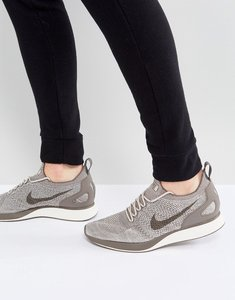 Read more about Nike air zoom mariah flyknit racer trainers in grey 918264-200 - grey