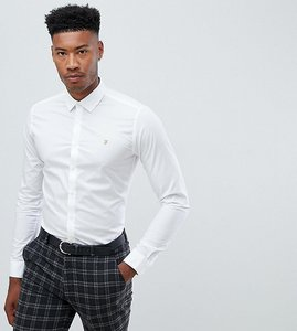 Read more about Farah slim smart shirt - white