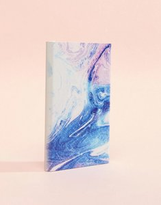 Read more about Typo pastel galaxy charger - marble