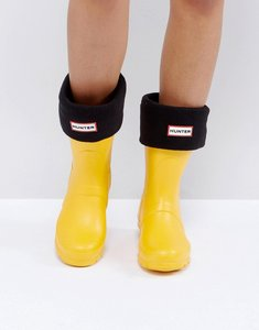 Read more about Hunter original black short boot socks - bk1 - black 1