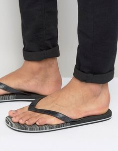 Read more about O neill profile marble flip flops - black