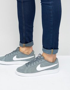 Read more about Nike court royale suede trainers in grey 819802-010 - grey