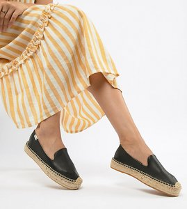 Read more about Soludos leather espadrilles - black