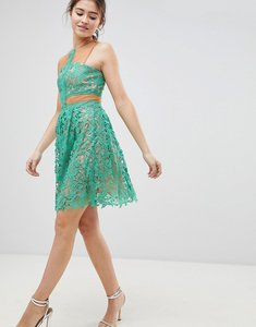 Read more about Glamorous lace skater dress - mint