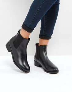 Read more about Aldo meaven leather chelsea ankle boots - black
