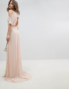 Read more about Tfnc high neck maxi bridesmaid dress with fishtail