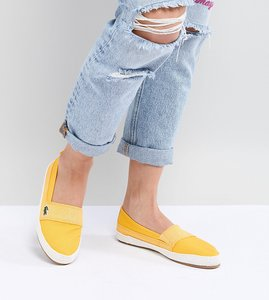 Read more about Lacoste maurice 218 slip on espadrille in yellow - yellow