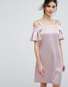 Read more about Closet london cold shoulder mini dress