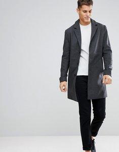 Read more about Kiomi overcoat in grey - grey melange