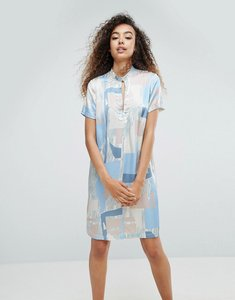 Read more about Mbym printed silky printed dress - cassia print