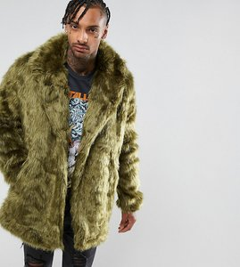 Read more about The new county faux fur jacket - khaki