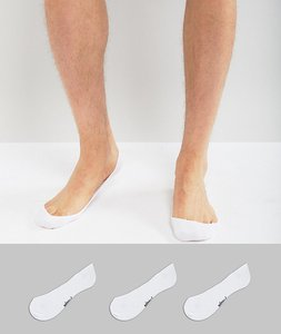 Read more about Pringle 3 pack invisible socks - multi