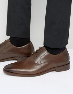 Read more about Kg kurt geiger zac leather derby shoes - brown