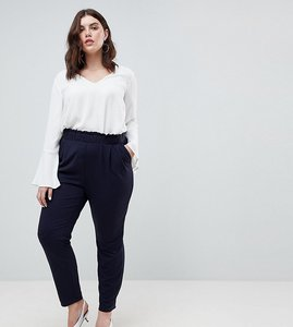 Read more about Junarose relaxed trousers - navy