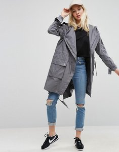 Read more about Asos waterfall parka - grey