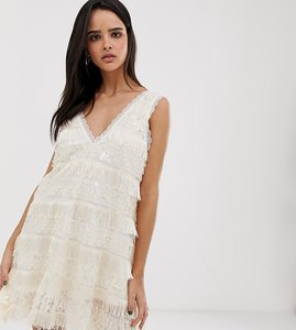 Read more about Dusty daze oversized sequin swing dress with tassles