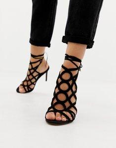 3fbf321b2a8 lipsy liberty nude studded caged heeled sandals - Shop lipsy liberty ...