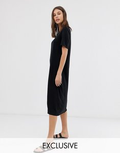 Read more about Weekday sleeveless column dress - black