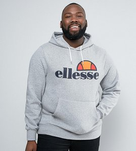 Read more about Ellesse plus hoodie with classic logo - grey