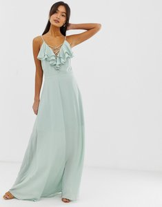 Read more about New look ruffle maxi dress - mint green