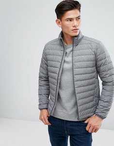 Read more about Esprit quilted jacket in real down - grey 020