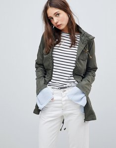 Read more about Brave soul love box lightweight jacket - khaki