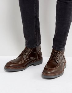 Read more about H by hudson wycombe leather lace up boots - brown