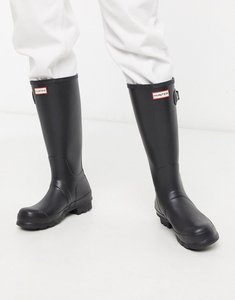 Read more about Hunter original tall wellies in black - black