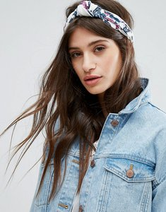 Read more about Johnny loves rosie flower print knot headband - multi