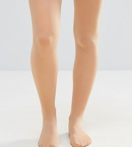 Read more about Asos maternity new improved fit 50 denier nude tights in light beige - beige