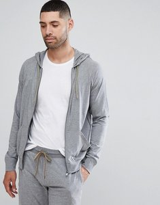 Read more about Paul smith lounge jersey hoodie in grey marl - grey