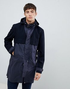Read more about Pretty green devenport parka in navy - navy