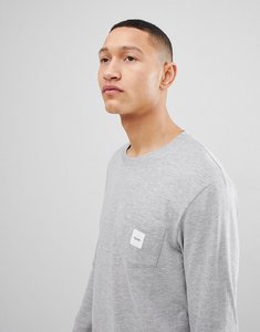 Read more about Esprit long sleeve t-shirt with branded pocket - 035