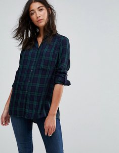 Read more about Esprit checked shirt - blue