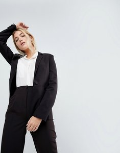 Read more about Asos the tailored blazer mix match - black