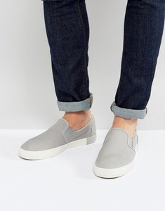 Read more about Timberland newport bay canvas slip on plimsolls - grey