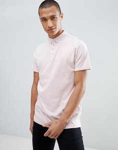 Read more about Clean cut waffle logo polo - pink