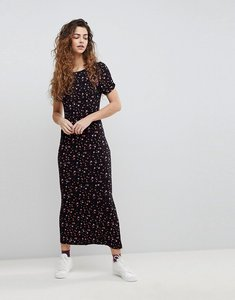 Read more about Free people caroline knit maxi dress - black combo