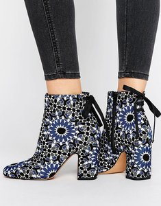 Read more about Asos effortless ankle boots - jacquard