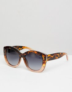 Read more about Black phoenix two tone cat eye sunglasses - horizon tort
