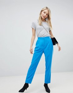 Read more about Miss selfridge peg leg trousers - blue
