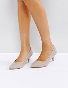 Read more about Asos salsa kitten heels - nude patent