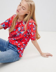 Read more about B young floral boxy blouse - combi 1