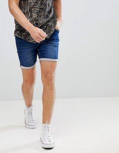 Read more about Blend slim fit denim shorts mid wash - 76201 middle denim