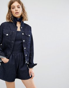 Read more about Vale original fitted denim jacket - indigo
